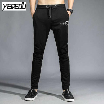 Pants - #1654 Pantalones hombre 2017 Big size Space cotton sweatpants Elastic waist Harajuku Ankle banded Stretch Joggers Harem pants -   jetcube