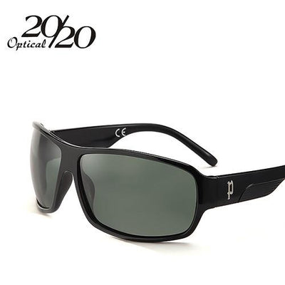 Sunglasses - 20/20 Brand Classic Sunglasses Men Polarized Glasses Driving Luxury Metal accessories Sun Glasses for Men Oculos Gafas PL73 - C01 Black G15  jetcube
