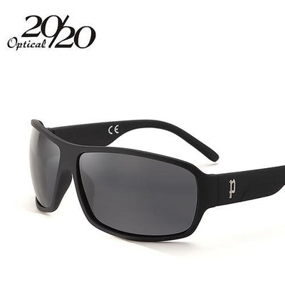 Sunglasses - 20/20 Brand Classic Sunglasses Men Polarized Glasses Driving Luxury Metal accessories Sun Glasses for Men Oculos Gafas PL73 - C02 MatteBlack Smoke  jetcube