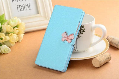 Fitted Cases - (3 Styles) Case For Samsung Galaxy J5 SM-J500F Pu Leather Flip Phone Stand Case For Samsung Galaxy J5 2015 Samsung J5 J5008 - CSW Blue Butterfly  jetcube