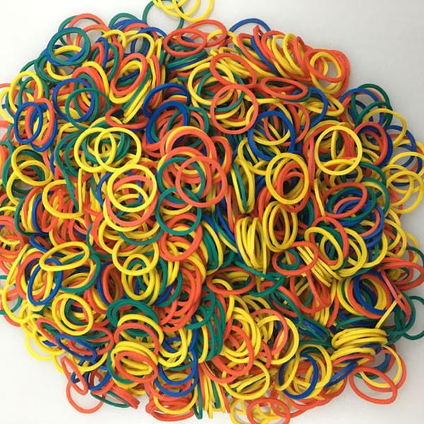 Dog Accessories - (1000 pieces/lot) Pet Hair Rubber Band 4 Colors High Elasticity Dog Cat Hair Accessories Diameter About 0.59 inch - Colorful 1000pcs  jetcube