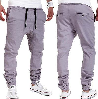e75e97d61 Plus Size Khaki Joggers Mens Khaki Pants Jogger Pants Men s Cuffed Joggers  Pants Cotton Long Trousers