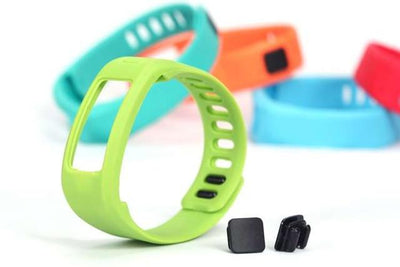 Smart Wristbands - (JM1PTSS)Replacement Rubber Band with Clasps for Garmin Vivofit Bracelet Wristband No Tracker D06411 - Green / S  jetcube