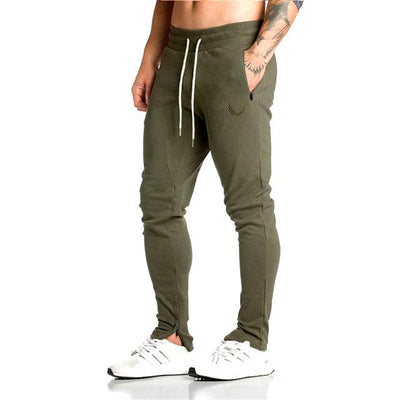 2017 Autumn New Mens Gyms Fitness Sweatpants Pant Male Bodybuilding Casual Elastic Cotton Brand Trousers Joggers Pants for Men