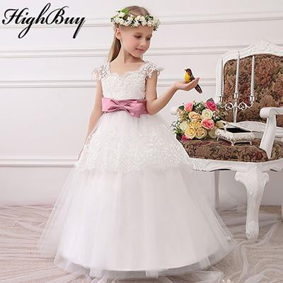 Highbuy 2017 Formal Party Formal Flower Girls Dress Baby Pageant