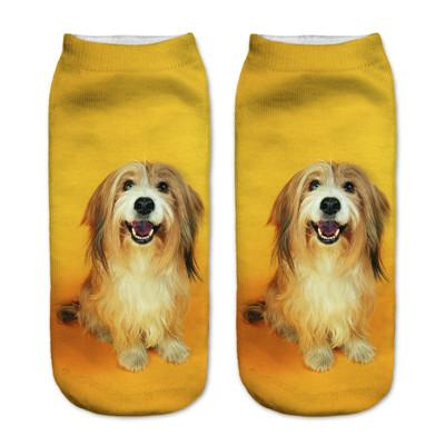 Socks - $0.99 A Pair 21 Style New 3D Socks Women Fashion Single Side Printing Men Cotton Socks Unisex Socks Pattern Meias Feminina Socks - J2577  jetcube