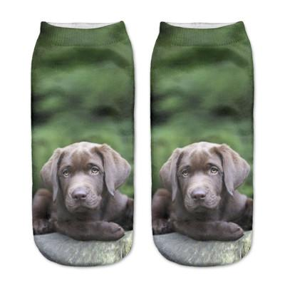 Socks - $0.99 A Pair 21 Style New 3D Socks Women Fashion Single Side Printing Men Cotton Socks Unisex Socks Pattern Meias Feminina Socks - J2578  jetcube