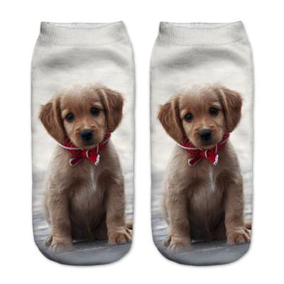 Socks - $0.99 A Pair 21 Style New 3D Socks Women Fashion Single Side Printing Men Cotton Socks Unisex Socks Pattern Meias Feminina Socks - J2583  jetcube