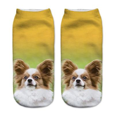 Socks - $0.99 A Pair 21 Style New 3D Socks Women Fashion Single Side Printing Men Cotton Socks Unisex Socks Pattern Meias Feminina Socks - J2599  jetcube