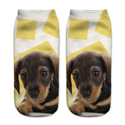 Socks - $0.99 A Pair 21 Style New 3D Socks Women Fashion Single Side Printing Men Cotton Socks Unisex Socks Pattern Meias Feminina Socks - J2608  jetcube