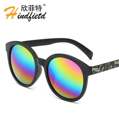 "Sunglasses - ""Floor price"" Fashion Colour Men Sunglasses Women Retro Sunglasses Unisex Luxury Brands Eyewear UV400 Reflective lens Eyeglasses - NO12  jetcube"