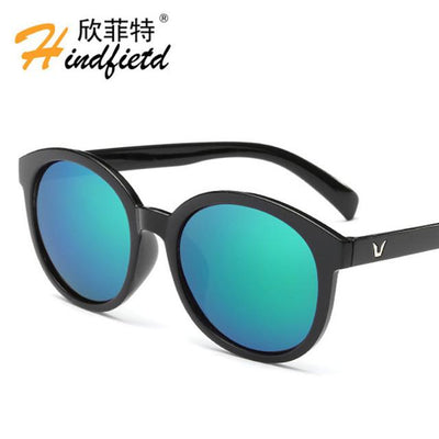 "Sunglasses - ""Floor price"" Fashion Colour Men Sunglasses Women Retro Sunglasses Unisex Luxury Brands Eyewear UV400 Reflective lens Eyeglasses - NO5  jetcube"