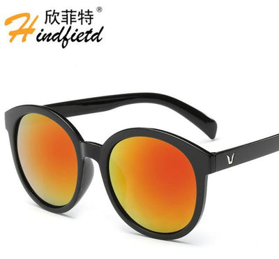 "Sunglasses - ""Floor price"" Fashion Colour Men Sunglasses Women Retro Sunglasses Unisex Luxury Brands Eyewear UV400 Reflective lens Eyeglasses - NO6  jetcube"