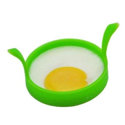 Drinkware - 1Pc Stainless Steel Egg Pancake Maker Egg Mold Cooking Tools Ring Heart Flower Kitchen Gadget Pancake Mold - Silicone  jetcube