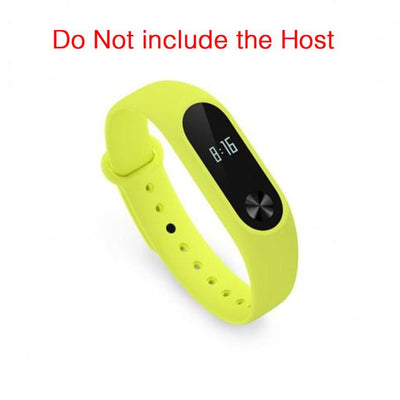 Smart Wearable Accessories - 100% Original Xiaomi mi band 2 Strap Belt Silicone Colorful Wristband for Mi Band 2 Smart Bracelet for Xiaomi Band 2 Accessories - Tender Green  jetcube