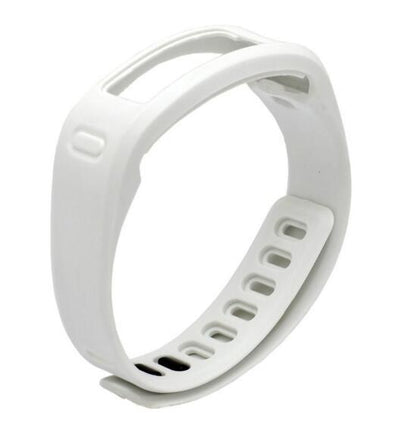 Smart Wristbands - (JM1PTSS)Replacement Rubber Band with Clasps for Garmin Vivofit Bracelet Wristband No Tracker D06411 - White / S  jetcube