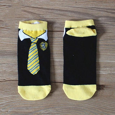 Socks - &  Fashion Art Women men and kdis Cotton Socks Harry Potter  Halloween Tie Pattern Hip Hop Harajuku Calcetines Cotton Socks - Yellow  jetcube