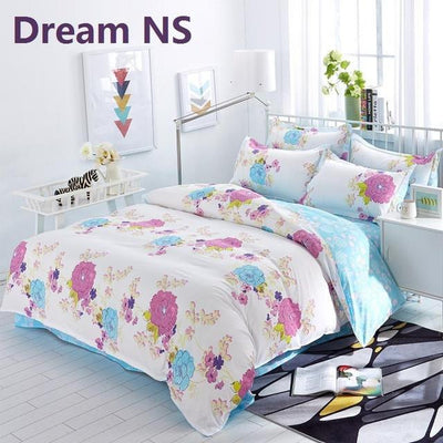 2016 New Origami Cranes Bedding Set Polyester Bed Sheet Cozy Duvet Cover Sets Bedspread Queen/Full/Twin Size Jogo de Cama  Dream NS Store- upcube