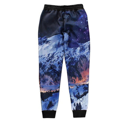 Pants - 12 styles Trousers 2017 New Summer Mens  pants 3D scenery Cool Long Pants Jogger  hip hop brand thick pants - a1 / S  jetcube