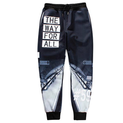 Pants - 12 styles Trousers 2017 New Summer Mens  pants 3D scenery Cool Long Pants Jogger  hip hop brand thick pants - a8 / S  jetcube