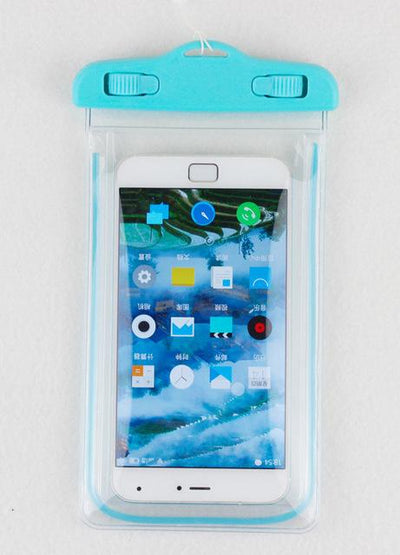 Fitted Cases - 100% sealed Waterproof Durable Water proof Bag Underwater back cover Case For iPhone For touch Pouch For Samsung Galaxy For HTC - blue  jetcube