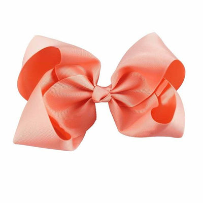 Hair Accessories - 10 pcs/lot 3 inch Grosgrain Ribbon 8 inch Big Hair Bow Boutique Hair Bow For Girls Hair Bow With Clip ZH10-14022015 - corcal  jetcube