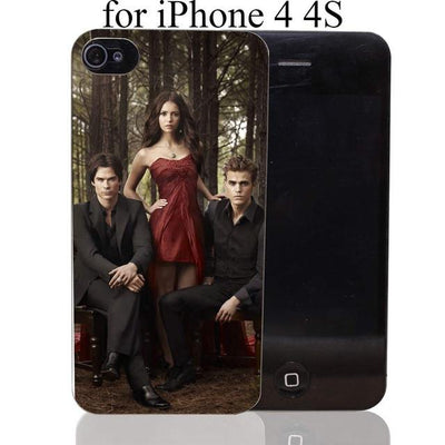 Vampire diaries - 1731-HOQE The Vampire Diaries Plastic  Transparent Hard Case Cover for iPhone 6 6s plus 5 5s 5c 4 4s Phone Cases - for iPhone 4 4s  jetcube