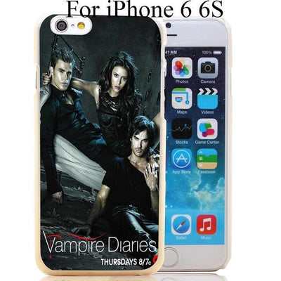 Vampire diaries - 1732-HOQE the vampire diaries Transparent Hard Case Cover for iPhone 6 6s plus 5 5s 5c 4 4s Phone Cases - for iphone 6 6s  jetcube
