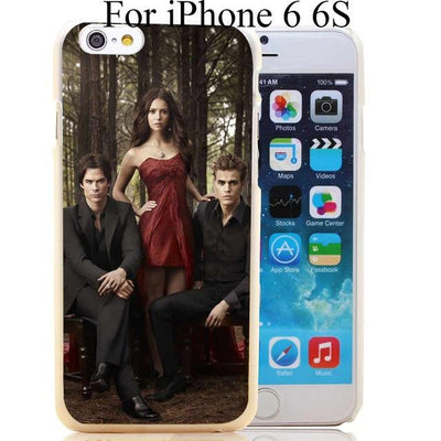 Vampire diaries - 1731-HOQE The Vampire Diaries Plastic  Transparent Hard Case Cover for iPhone 6 6s plus 5 5s 5c 4 4s Phone Cases - for iphone 6 6s  jetcube