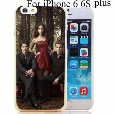 Vampire diaries - 1731-HOQE The Vampire Diaries Plastic  Transparent Hard Case Cover for iPhone 6 6s plus 5 5s 5c 4 4s Phone Cases - for iphone 6 6s plus  jetcube
