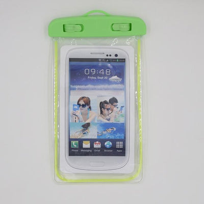 Fitted Cases - 100% sealed Waterproof Durable Water proof Bag Underwater back cover Case For iPhone For touch Pouch For Samsung Galaxy For HTC - green  jetcube