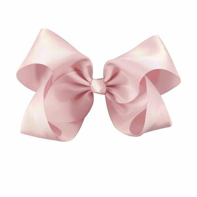 Hair Accessories - 10 pcs/lot 3 inch Grosgrain Ribbon 8 inch Big Hair Bow Boutique Hair Bow For Girls Hair Bow With Clip ZH10-14022015 - lt pink  jetcube