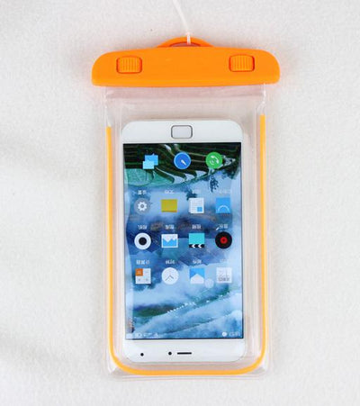 Fitted Cases - 100% sealed Waterproof Durable Water proof Bag Underwater back cover Case For iPhone For touch Pouch For Samsung Galaxy For HTC - orange  jetcube