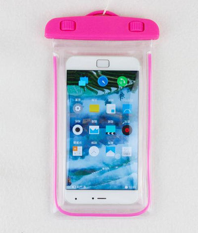 Fitted Cases - 100% sealed Waterproof Durable Water proof Bag Underwater back cover Case For iPhone For touch Pouch For Samsung Galaxy For HTC - pink  jetcube
