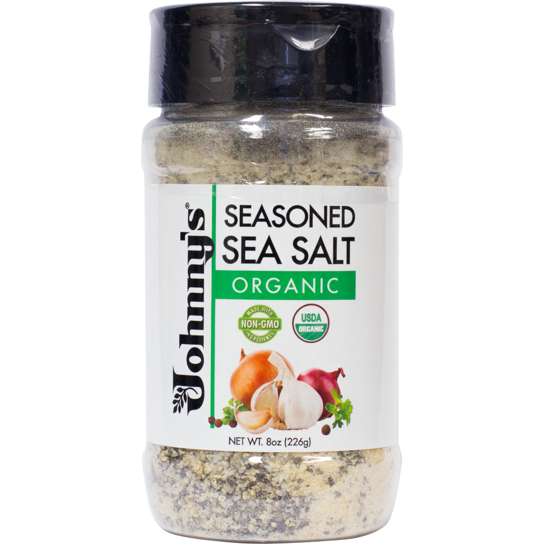 Organic Seasoned Sea Salt