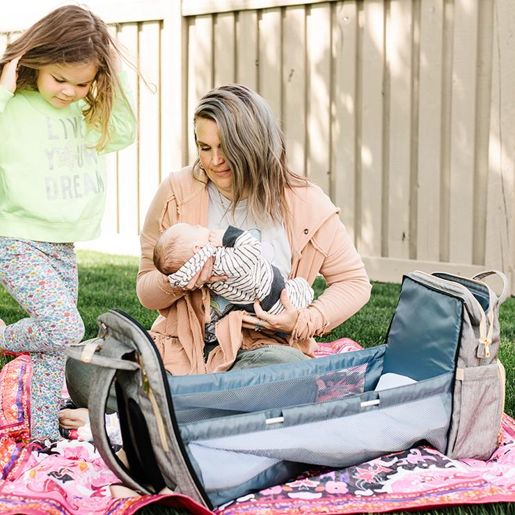 bassinet diaper bag