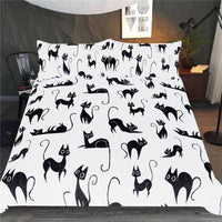 Cartoon Cats Bedding set