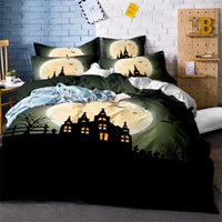 Haunted House Halloween Bedding Set
