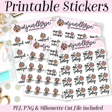 Coco Bundle Sticker Set - PRINTABLE STICKERS - MJ and Hope