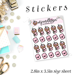 Coco Plans Stickers | MJH 950 - MJ and Hope