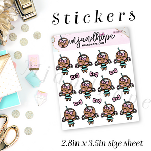 Coco Loves Stickers | MJH 987 - MJ and Hope