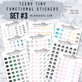 Ms. Vanilla | Teeny Tiny Functional Stickers - MJ and Hope