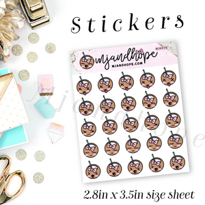 Coco Emoji Planner Stickers | MJH 970 - MJ and Hope