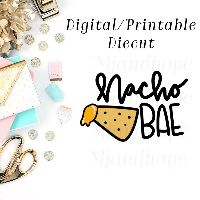 Nacho Bae - Digital Diecut - MJ and Hope