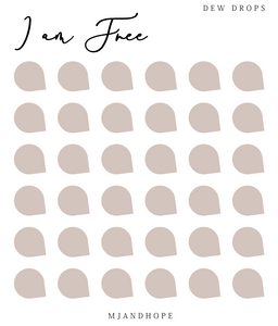I am Free - Teeny Tiny Stickers