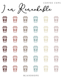 I am Remarkable - Teeny Tiny Stickers