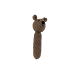 Bear Baby Rattle - Hand Crocheted