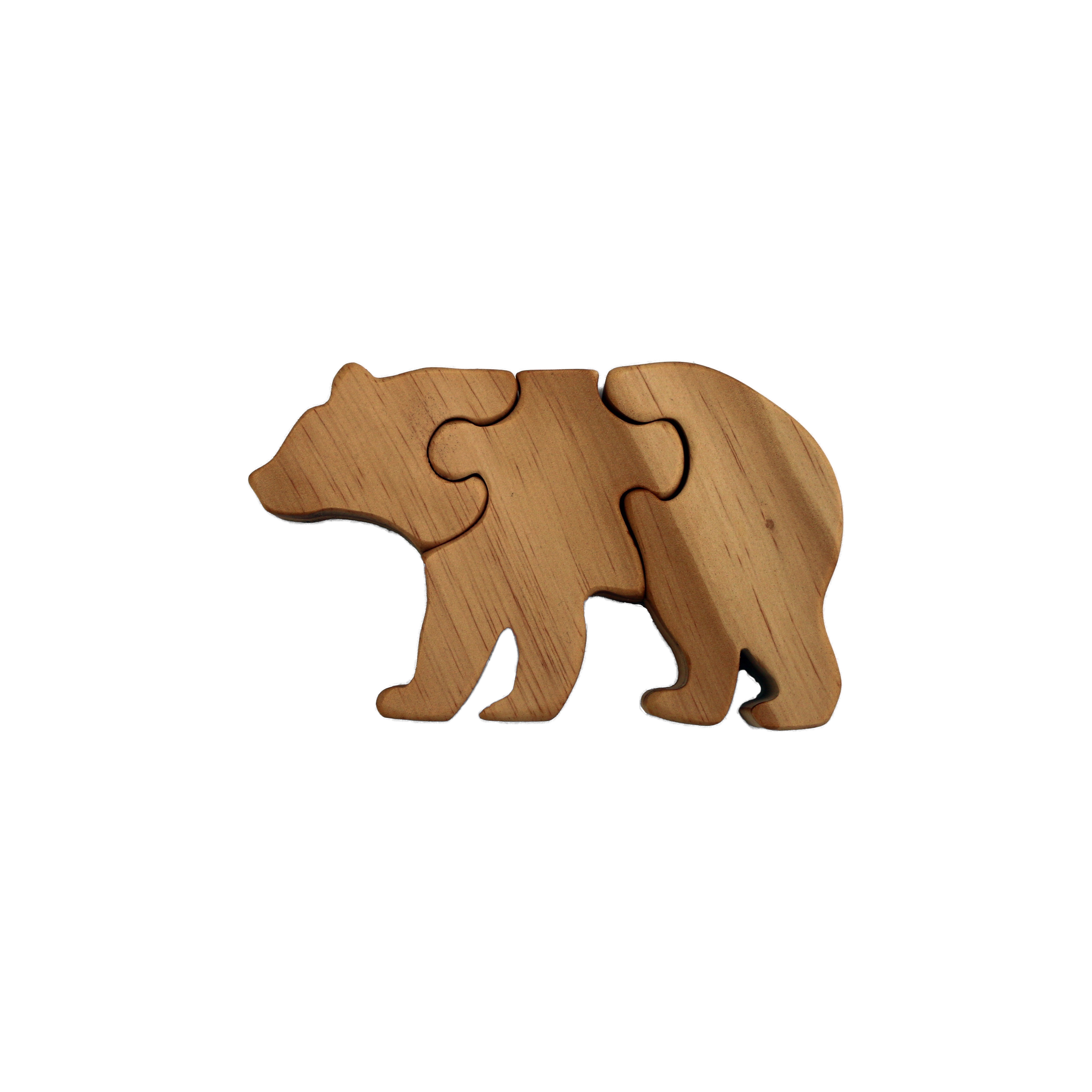 Bear Wooden Puzzle