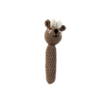 Deer Baby Rattle - Hand Crocheted