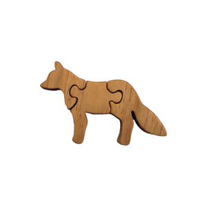 Fox Wooden Puzzle